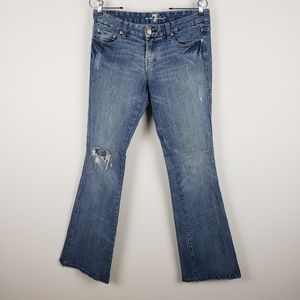 7FOM Flare Destroyed Jeans Size 26